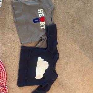 Baby gap sweatshirts 3-6 months